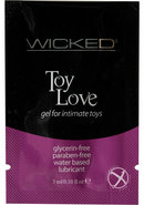 Wicked Toy Love Gel Foil Packs .10oz...