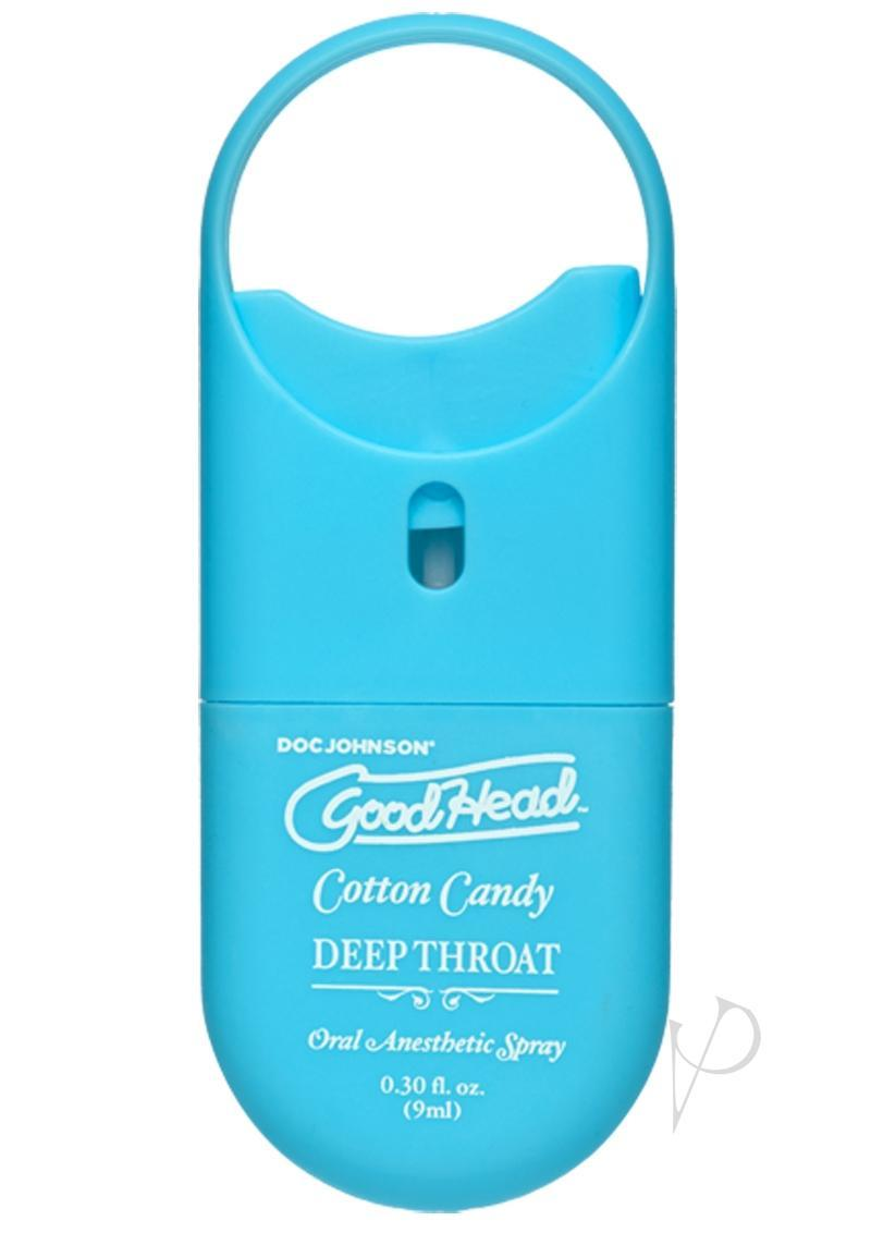 Goodhead Deep Throat To Go Cotton Candy